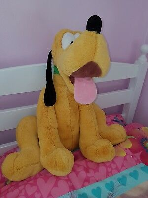 Disney Store Stamped Giant Pluto Plush. Immaculate condition