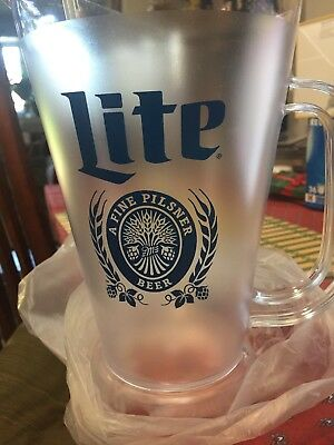 Lite beer Pitcher , New Wrapped In Plastic