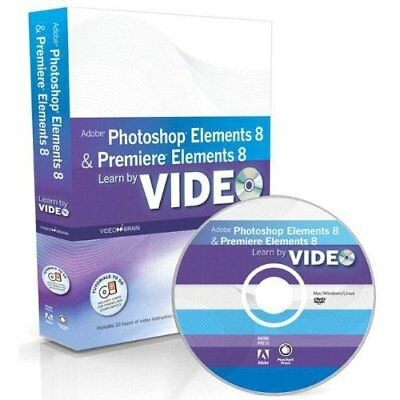Learn Adobe Photoshop Elements 8 and Adobe Premiere Elements 8 by Video Video2br