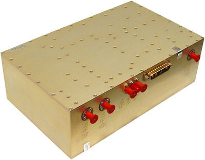 AETHERCOMM AMPLIFIER SSPA 0.96-1.22-50 high power pulsed amp TACAN 960-14000MHz