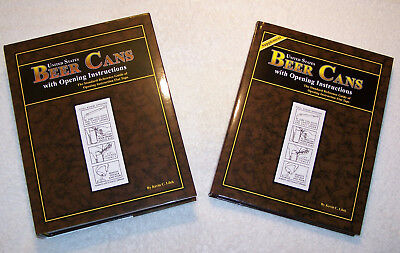 Book Set - U.S. Beer Cans with Opening Instructions by Kevin Lilek - NOS