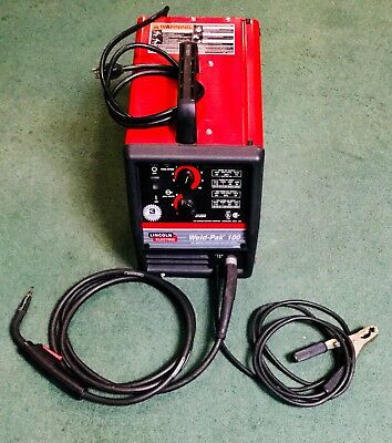 Lincoln Electric Weld Pak 100 HD Wire-Feed Arc Welder