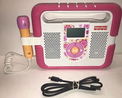 Fisher Price Kid Tough MP3 Music Player T5268/T5269 Punk  *No Microphone*