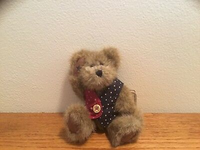 BOYDS BEAR- I.B. BEARYPROUD STYLE# 913975 T.J'S BEST DRESSED COLLECTION w/tags