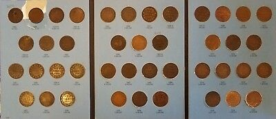 1858 to 1920 Complete Canandian Large Cent collection