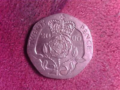 Great Britain   20    Pence  2000   Mo