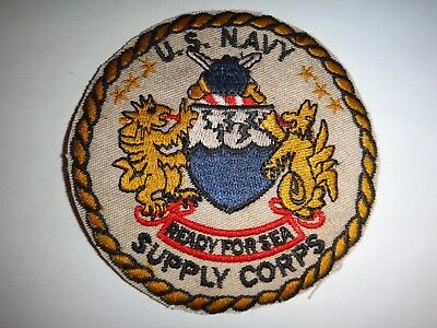 us navy supply corps ready for sea patch