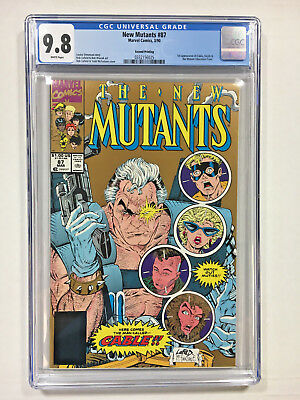 New Mutants #87 CGC 9.8 white Marvel comics 1990 1st Cable gold ed