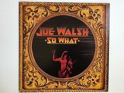 JOE WALSH: So What 1974 original vinyl LP MINT+bonus CD EAGLES JAMES GANG