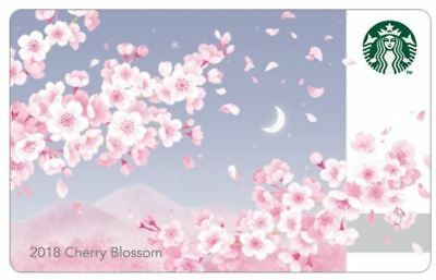 Starbucks Korea 2018 cherry blossom card Limited  CHERRY BLOSSOM CARD KOREAN