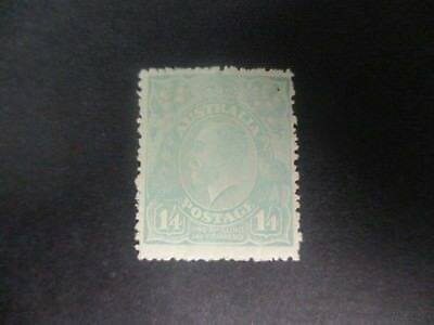 KGV Stamps: 1'4 Turquoise SMW Perf 13.5  MH  (X83)