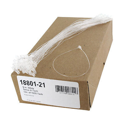 """""""Avery Secur-A-Tach Tag Fasteners, Weatherproof Nylon, 9"""""""" Long, 1,000/box"""""""
