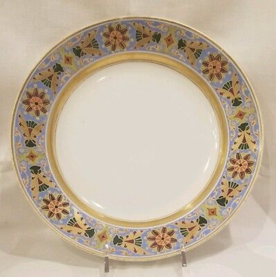 Russia Russian Imperial Porcelain Deep Plate from Gothic Service 1855 - 1881