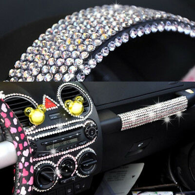 Bulk Pack 5mm Self Adhesive Diamond Stick-on Rhinestone Craft Car Interior Decor