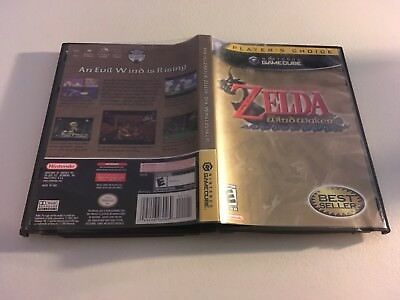 The Legend Of Zelda Wind Waker Nintendo Plc Gamecube Ex+Nm Condition Complete!-