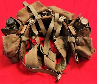 Original Australia Army Dpcu Uniform Webbing Set