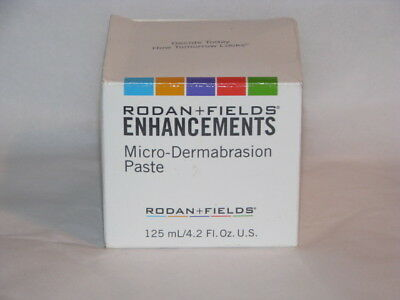 Rodan and Fields 4.2 oz. & 7 Packets ENHANCEMENTS MicroDermabrasion Paste  New
