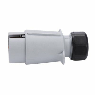 7Pin 12S Car Trailer Caravan Electrics Plastic Gray Plug Socket Replacement