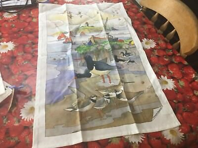 Emma Bridgewater Seaside Tea Towel Best New With Tag