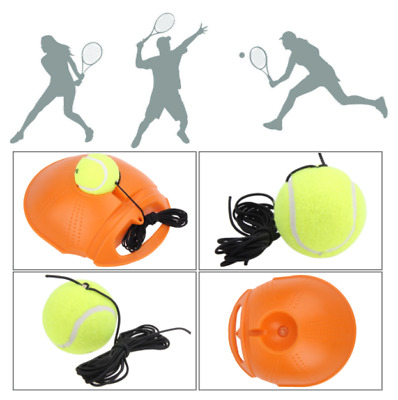 Tennis Ball Singles Training Device Exercise Rebound Ball Back Base Trainer Tool
