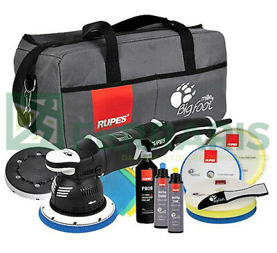 KIT dual action polisher RUPES BIGFOOT LK900E MILLE DLX set detailing polishing