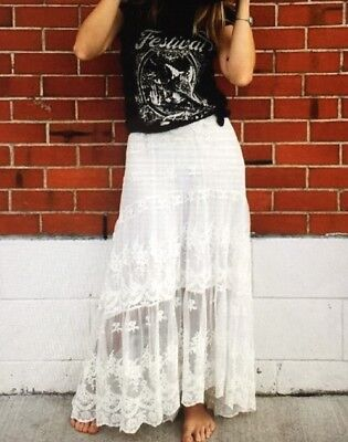Spell And The Gypsy Collective Ophelia  Lace Skirt M