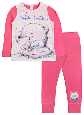 Me To You Pyjamas Girls Tatty Teddy Long Pjs Set Kids Character Nightwear Size