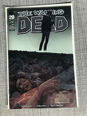 Walking Dead 100 Chrome Variant 1st Print / US-Comic Bagged & Boarded