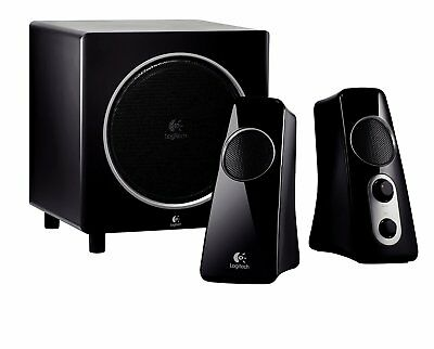 Logitech 2.1 Channel Computer Gaming Speaker System Z523 with Subwoofer NEW