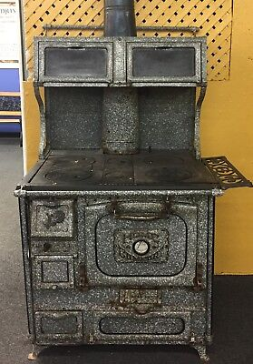 Wood Fired Cook Kitchen Stove Home Comfort