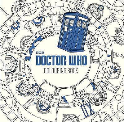 Doctor Who: The Colouring Book by Penguin Books Ltd (Paperback, 2015)