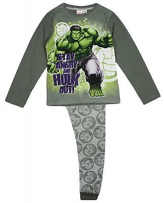 Hulk Silhouette Marvel The Incredible Hulk Boys T-Shirt 8 Y Age 18 Months