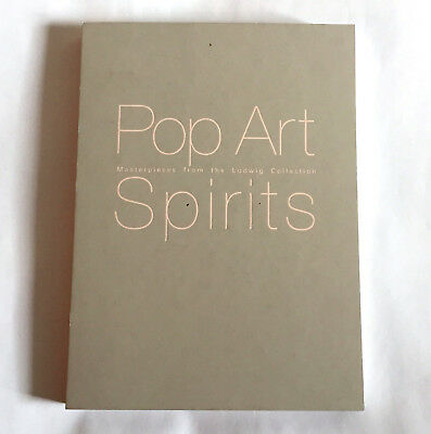 POP ART SPIRITS JAPAN EXHIBITION BOOK 1998 Warhol Lichtenstein Rauschenberg
