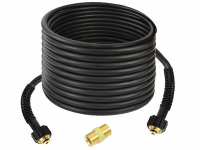 50' Pressure washer Hose 3200psi, M22 - with M22 Male to Male coupling to extend