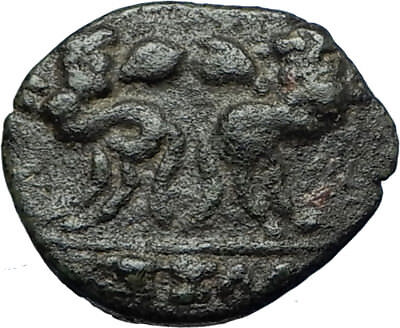 Thessalonica in Macedonia under Romans Ancient Greek Coin  JANUS CENTAURS i67926