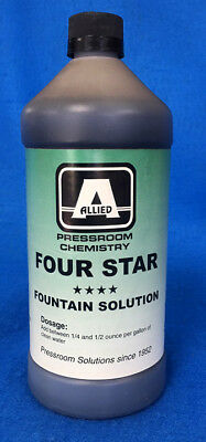 Allied Four Star Fountain Solution 1 Quart