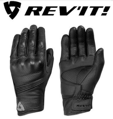 ON SALE !!! REVIT FLY 2 Genuine Leather Cafe Racer Motorcycle Gloves