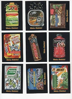 2018 Wacky Packages Go to the Movies lot of 62 red ludlow parallels all xx/25