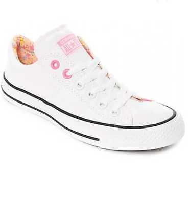 Converse Chuck Taylor All Star Madison Ox Size 5 US Women's White Pink Sunset