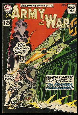 Our Army at War #122 VG/FN 5.0  Ramey Collection