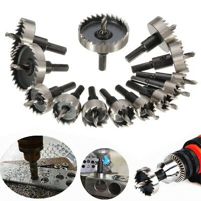 Hole Saw Tooth Kit HSS Steel Drill Bit Set Cutter Tool for Metal Wood Alloy USA!