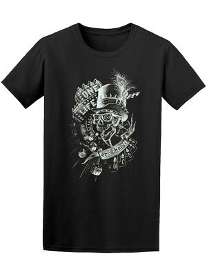 Poker Gambling Skull Playing Cards Tee - Image by Shutterstock