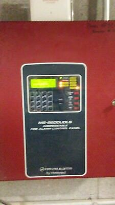 Fire-Lite MS-9600UDLS Fire alarm control panel. New with cabinet.