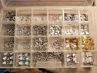 Bulk Lot Of 781 Charms