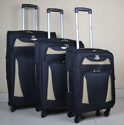 Travel King Blue Lightweight 3-piece Spinner Luggage Set for Organized Travelers