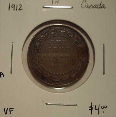 A Canada George V 1912 Large Cent - VF