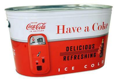 New Vintage Coke Large Oval Party Tub