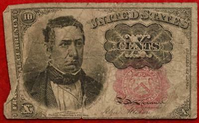 U.S. 10 Cents Fractional Note
