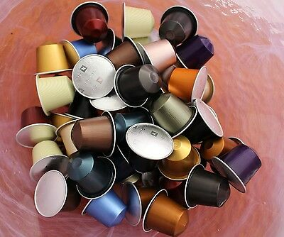 Genuine Nespresso Capsules x120 loose Pods Expiry August 2018
