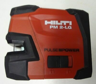 Hilti PM 2-LG Green Beam Laser Level used a little and works great actual pics